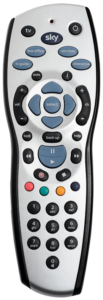 Sky Plus HD remote control