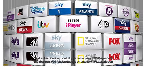 Sky TV channels