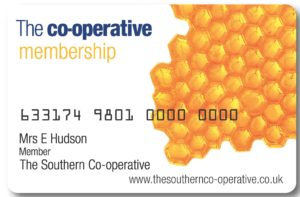 Co-op Membership Card