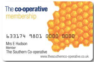 Co-op Membership Card