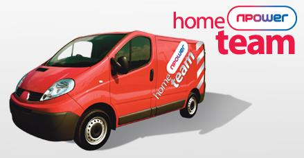 Npower Home Team Van