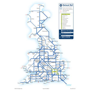 National Rail Network Map National Rail Contact Number: 0800 022 3720 – Contact Numbers