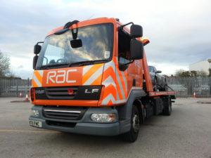 RAC Flatbed Truck