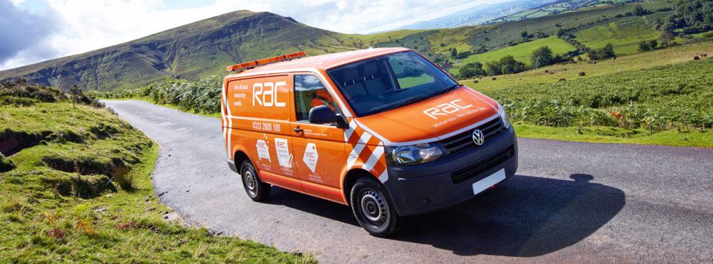 RAC Recovery Van