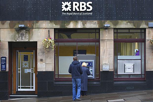 RBS Bank Branch