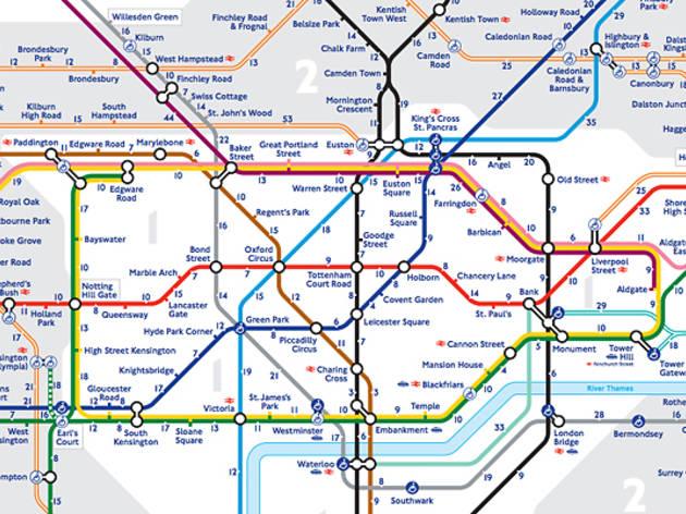 TFL Tube (underground) Map