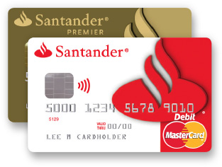 santander credit card register online banking