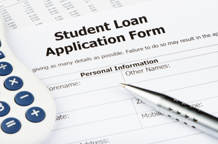 Student Finance Application Form