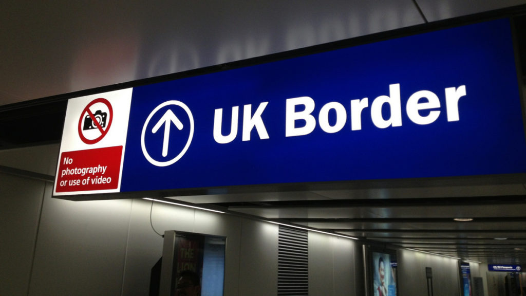 UKVI UK Border