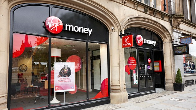 Virgin Money Branch Exterior