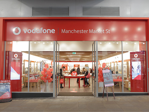 Vodafone Manchester Store