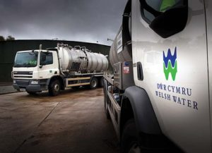 Welsh Water Lorries