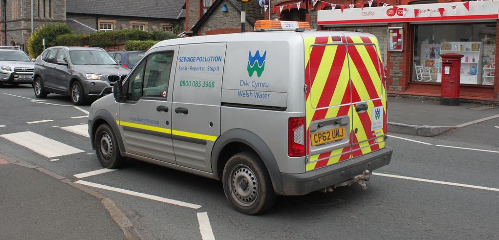 Welsh Water Van