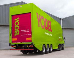 Yodel Lorry