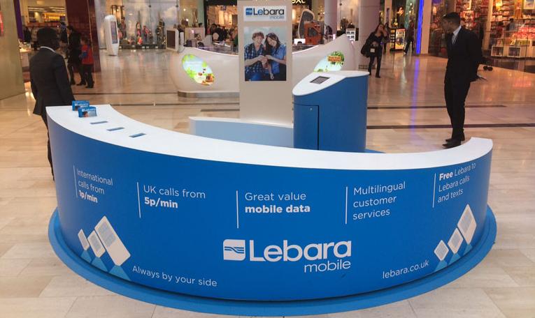 Lebara Mobile Kiosk