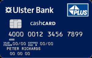 Ulster Bank Cash Card