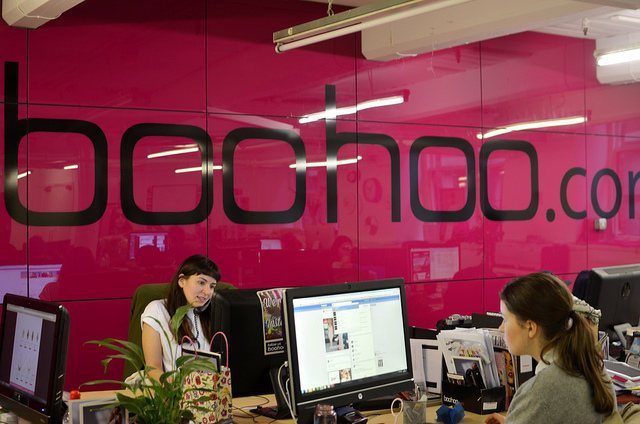 Boohoo Head Office Interior