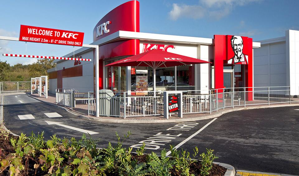 KFC Carmarthen Restaurant
