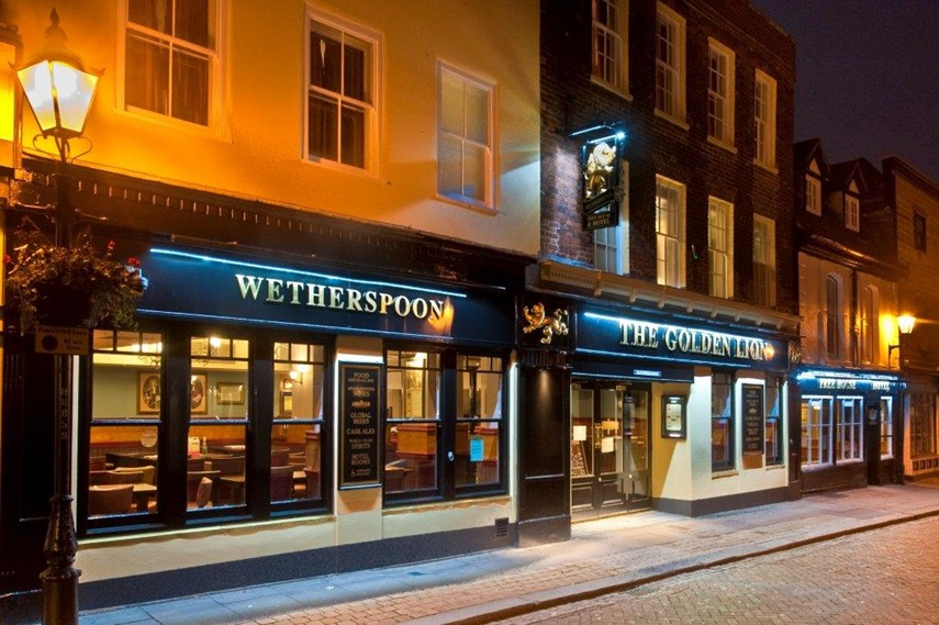 Wetherspoons Kent Pub