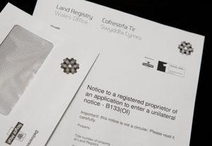 Land Registry Letter