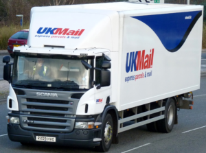UK Mail Lorry