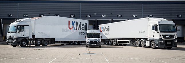 UK Mail Vehicles