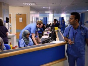 NHS Reception