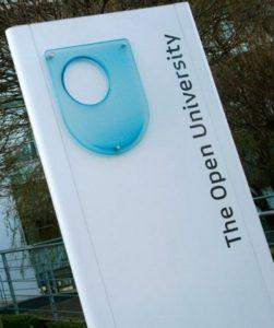 Open University Sign