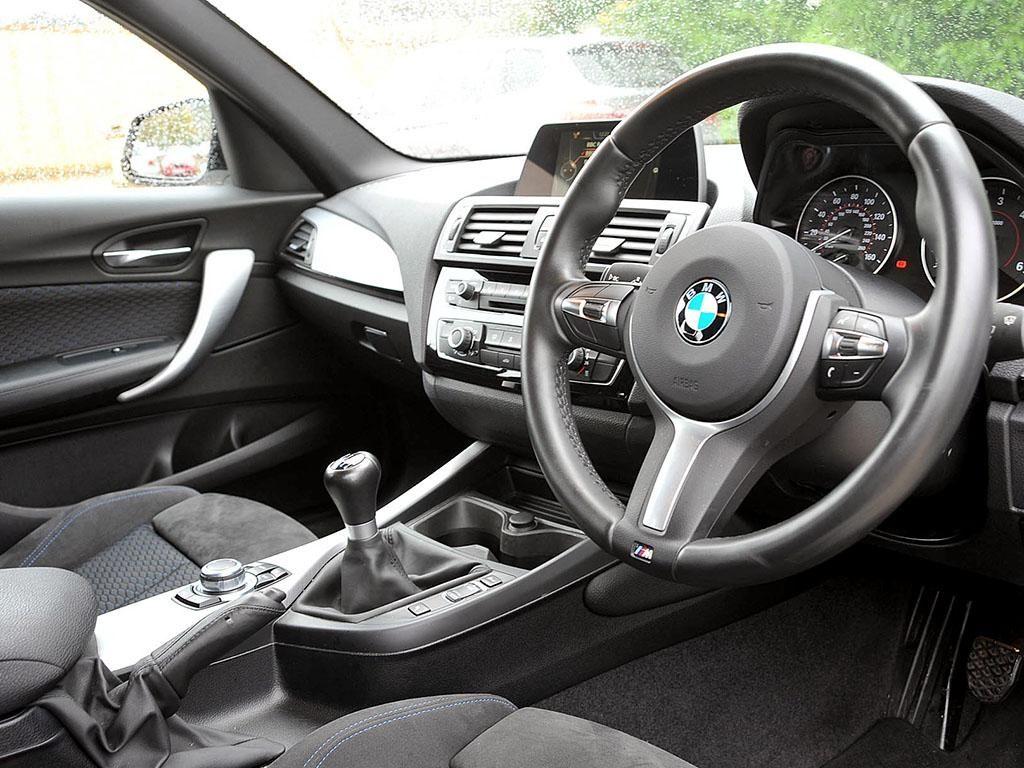 BMW 120d Front Interior