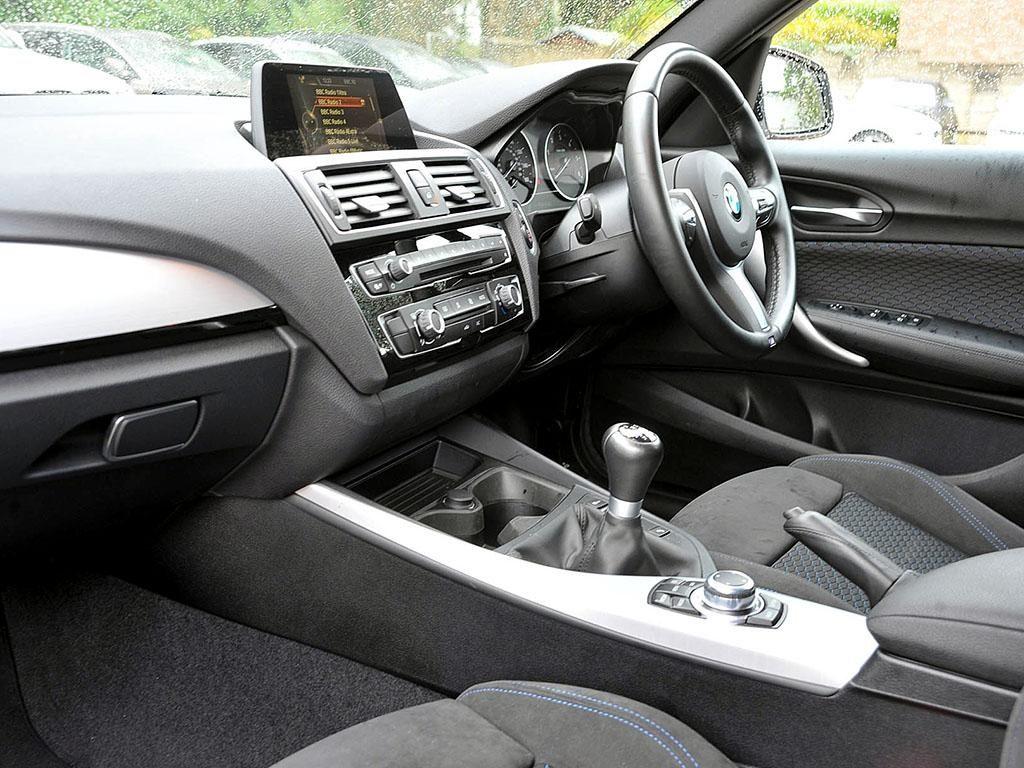 BMW 120d Passenger Interior
