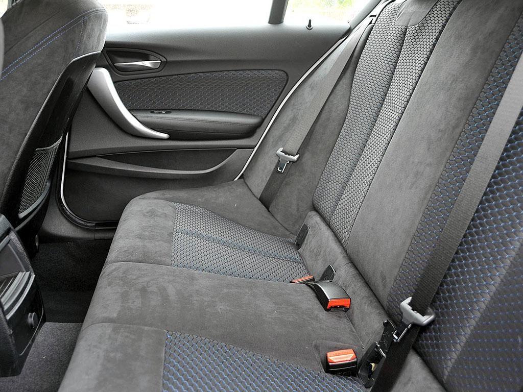 BMW 120d Rear Seats