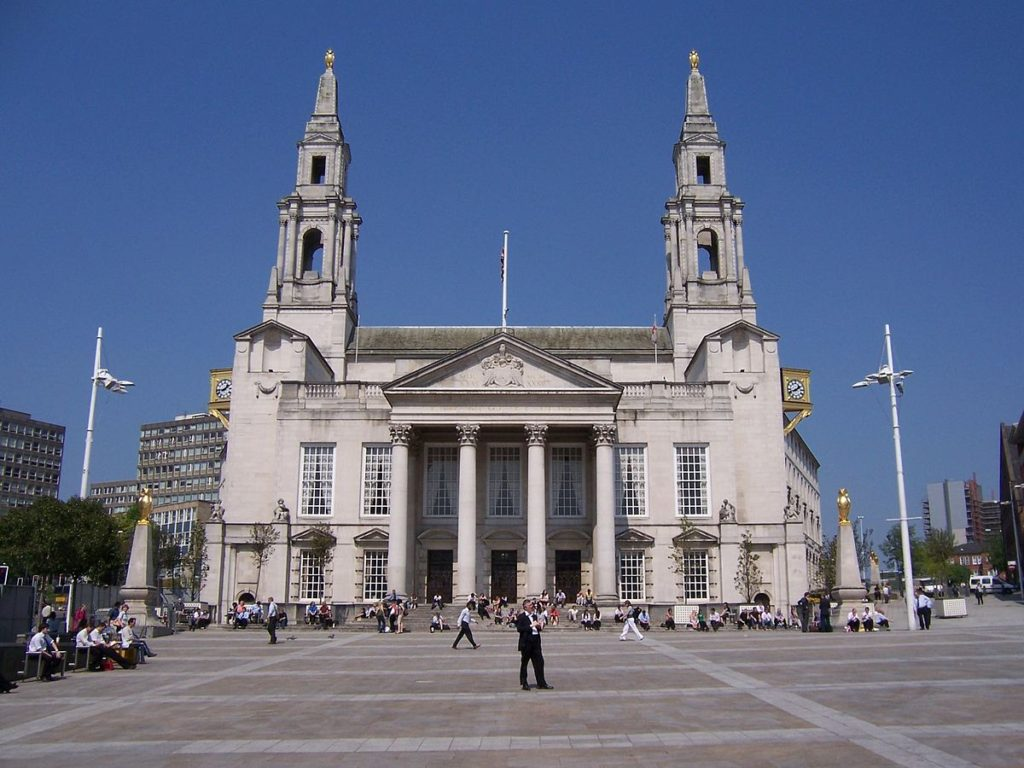 Leeds City Council Civic Hall