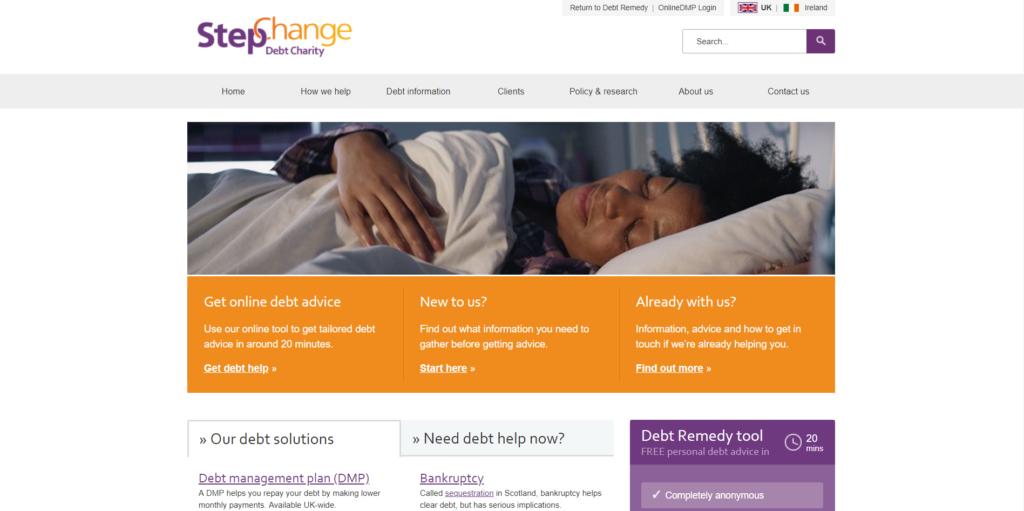 StepChange Website