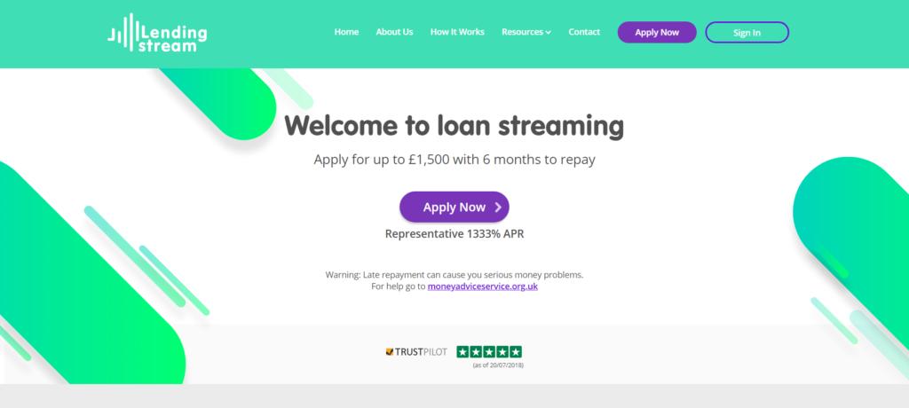 Lending Stream Website